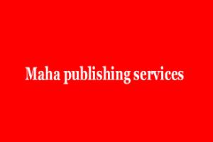 maha publishing services