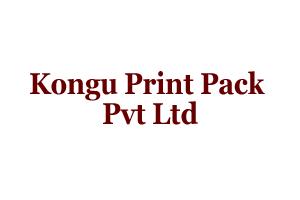 Kongu Print Pack Pvt Ltd