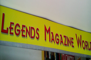 Legends Magazine World