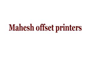 Mahesh offset printers