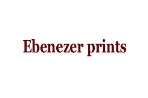 Ebenezer prints