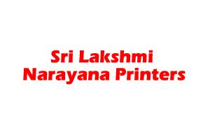Sri Lakshmi Narayana Printers