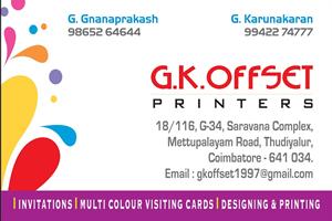 GK OFFSET PRINTERS
