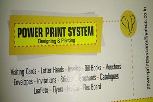 Power Print System