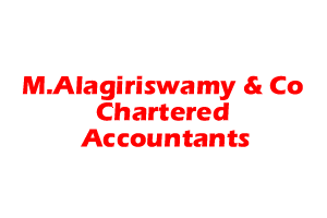 M.Alagiriswamy & Co, Chartered Accountants