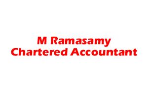 M Ramasamy, Chartered Accountant