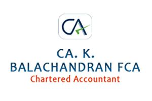 CA K. BALACHANDRAN FCA