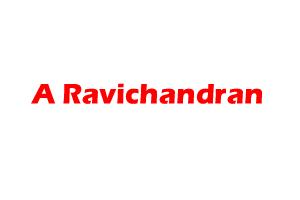 A Ravichandran