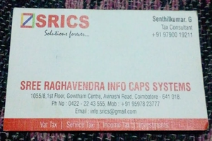 Sree Raghavendra Info Caps Systems