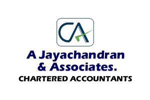 A Jayachandran & Associates. CHARTERED ACCOUNTANTS