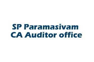 SP Paramasivam CA Auditor office