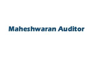 Maheshwaran Auditor