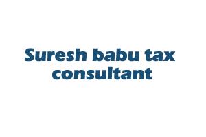 Suresh babu tax consultant