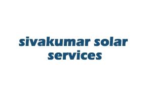 sivakumar solar services