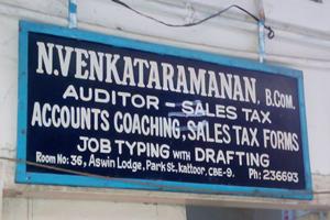 N. Venkataramanan Auditor