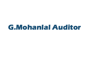 G.Mohanlal Auditor