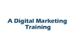 A Digital Marketing Training