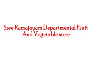 Sree Ramajayam Departmental Fruit & Vegetable store