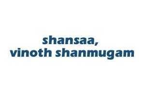 shansaa, vinoth shanmugam
