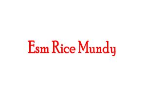 Esm Rice Mundy