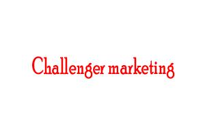 Challenger marketing