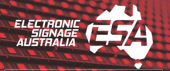 Electronic Signage Australia