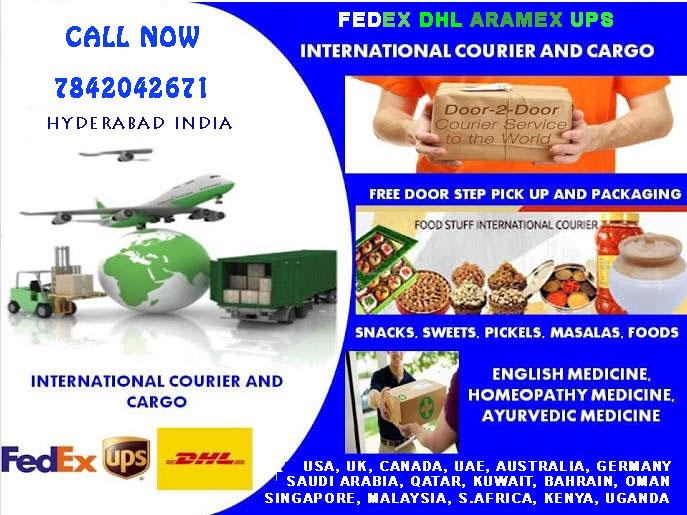 DHL Fedex International Courier Hyderabad