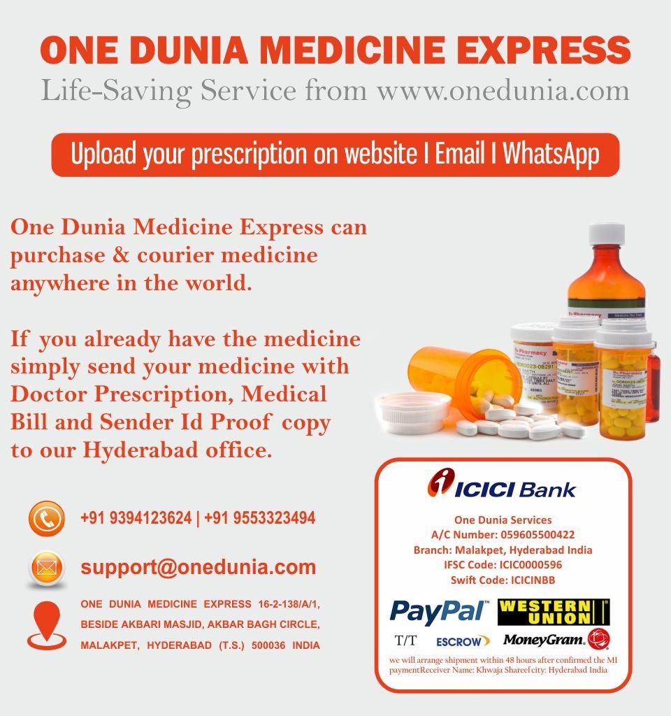 One Dunia Medicine Express