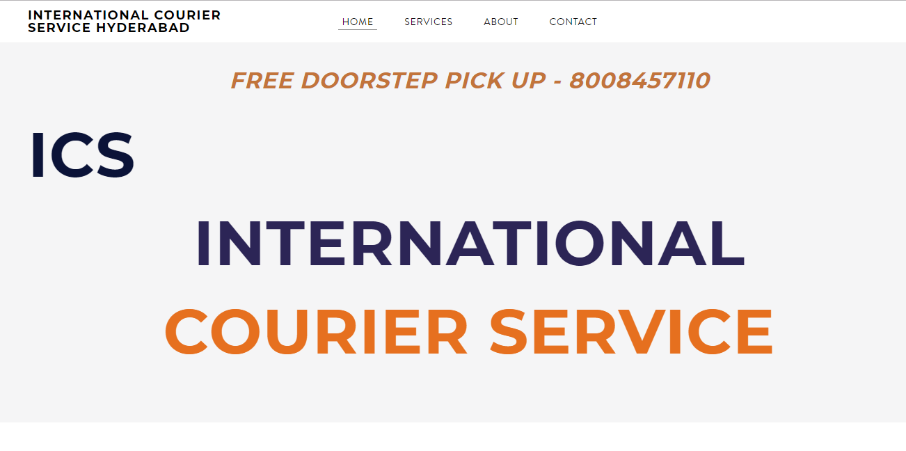 ICS INTERNATIONAL COURIER SERVICES IN HYDERABAD