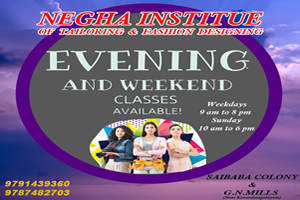 Negha Institute of Tailoring & Fashion designing