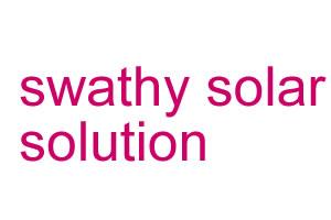 Swathy solar solution
