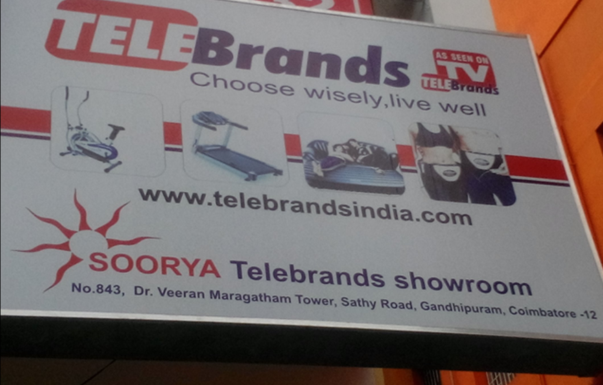 Soorya Telebrands Showroom
