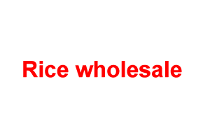 Rice wholesale