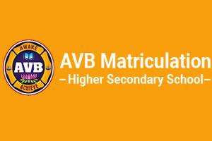 AVB Matriculation Higher Secondary School,