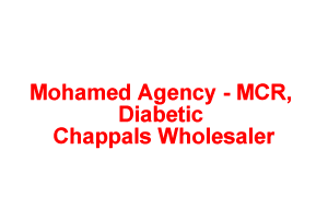 Mohamed Agency  MCR, Diabetic Chappals Wholesaler