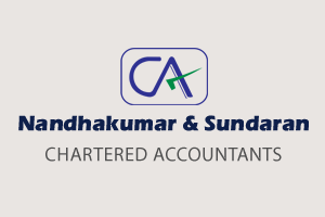 Nandhakumar & Sundaran, Chartered Accountants, Auditors