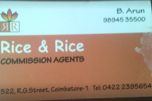 rice & rice commission agents