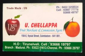 U.Chellappa Fruit Merchant