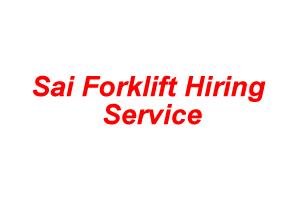 Sai Forklift Hiring Service