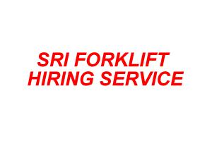 SRI FORKLIFT HIRING SERVICE