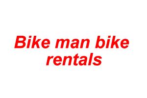 Bike man bike rentals