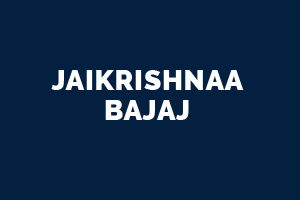 Jaikrishnaa Bajaj