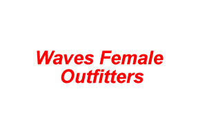 Waves Female Outfitters
