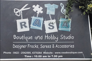 Rasa Boutique And Hobby Studio