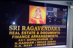 Sri Ragavendra Real Estate & Documents Finance Arrangements