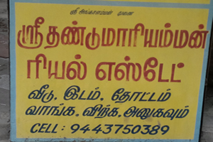 Sri Thandumari Amman Real Estate