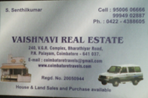 vaishnavi real estate