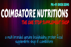 COIMBATORE NUTRITIONS Near Small Shivan Temple