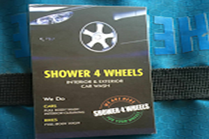 Shower 4 Wheels
