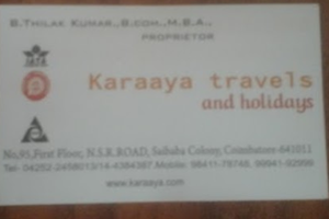 Karaaya Travels